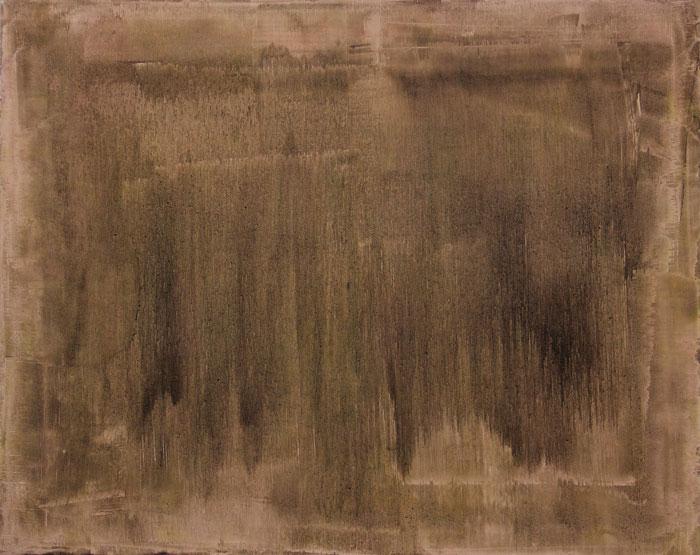 Land 1998. Oil on canvas 61x77cm.
