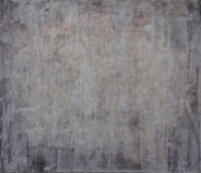 Land 1995. Oil on canvas 60x70cm.