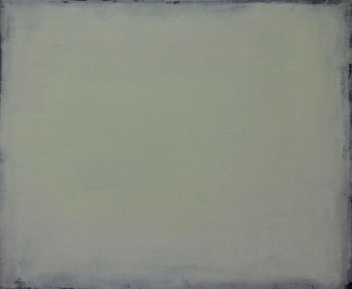 Land 1997. Oil on canvas 50x70cm.
