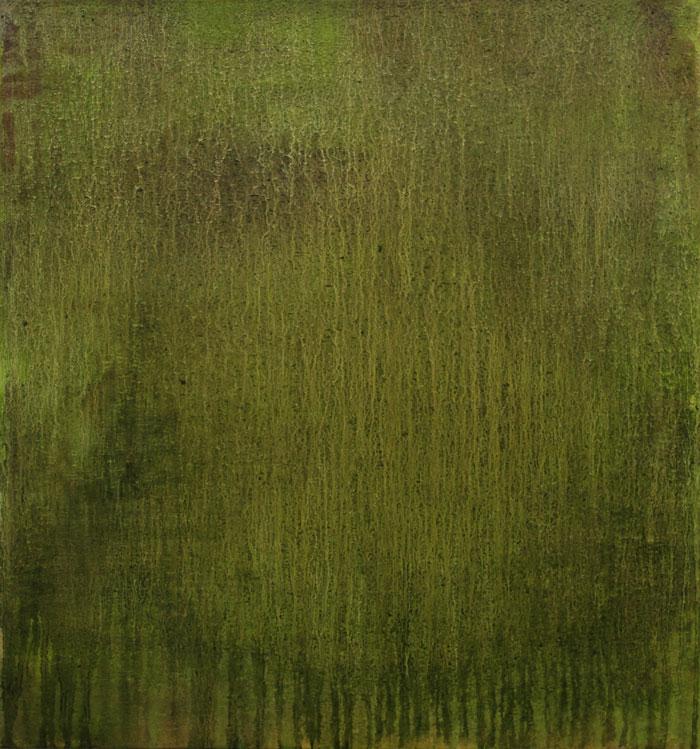 Landslag Landscape 2014 Oli and soil on canvas 70x 65 cm.