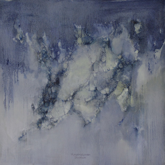 From the series Particles from places 2010 Oil on canvas 2013, 85 x 85 cm.