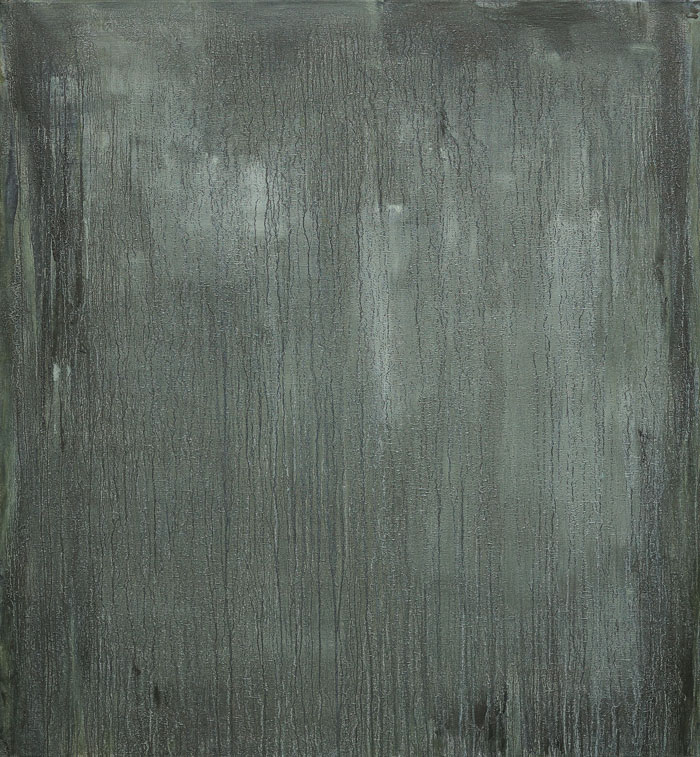Kollutungur 2017 Mineral powder from Kollutungur Borgarfjörður eastern and oil on canvas, 140 x 130 cm.